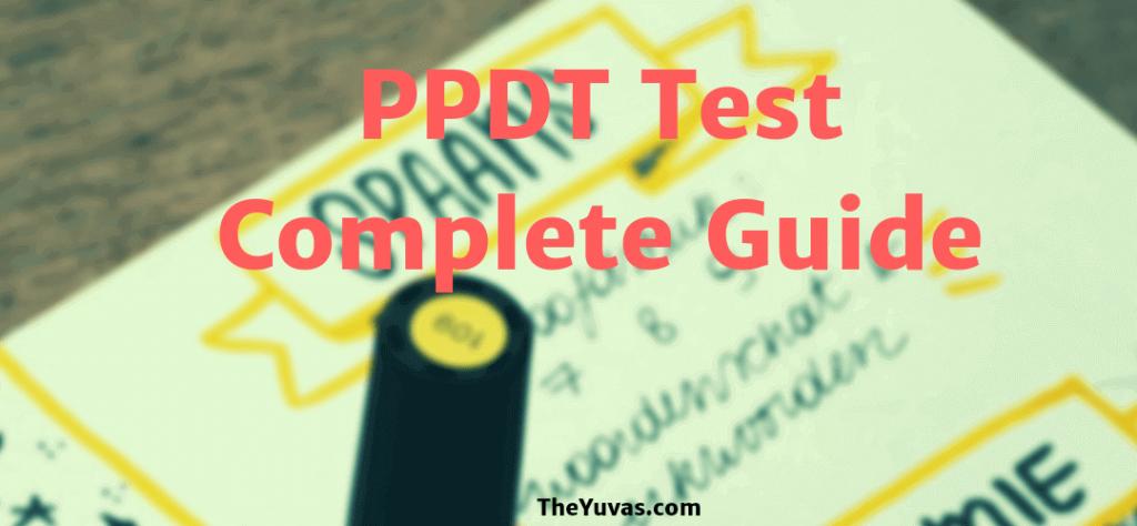 PPDT Test for SSB