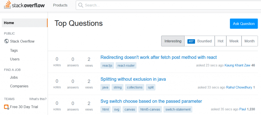 Stack Overflow - Where Developers Learn, Share, & Build Careers(1)