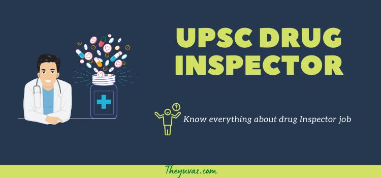 UPSC drug inspector exam
