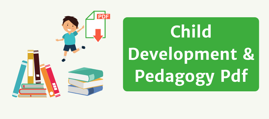 child development and pedagogy pdf
